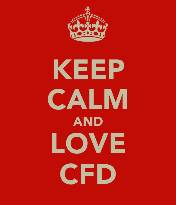 KEEP CALM AND LOVE CFD