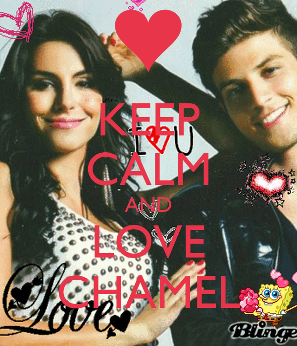KEEP CALM AND LOVE CHAMEL