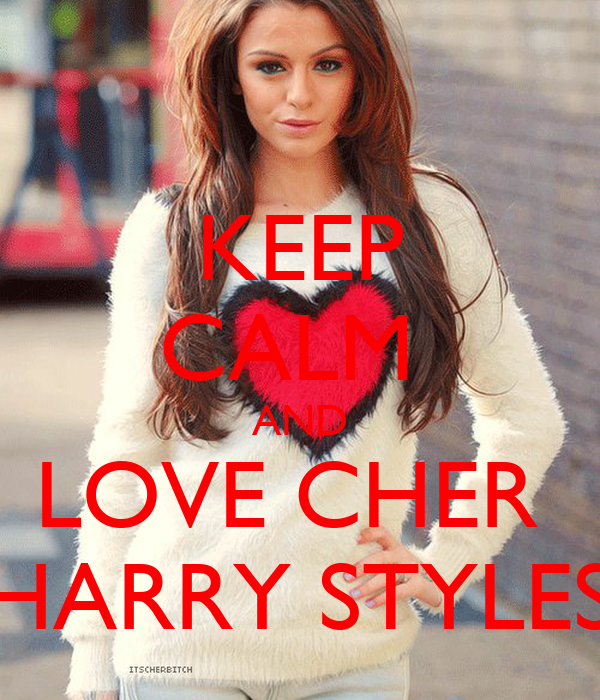 keep calm and love cher harry styles poster emma keep
