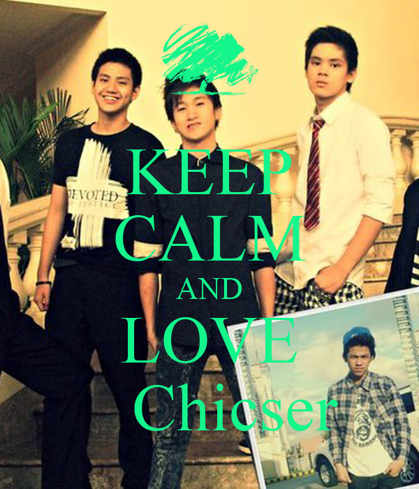 KEEP CALM AND LOVE    Chicser