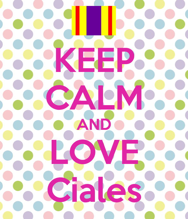 KEEP CALM AND LOVE Ciales