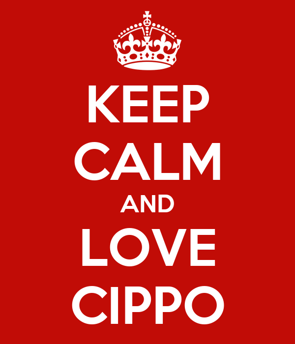 KEEP CALM AND LOVE CIPPO