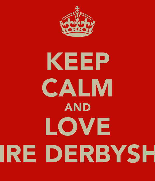 KEEP CALM AND LOVE CLAIRE DERBYSHIRE♥