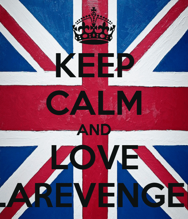 KEEP CALM AND LOVE CLAREVENGERS