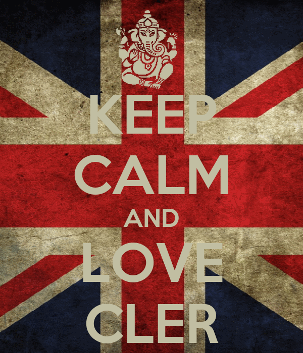 KEEP CALM AND LOVE CLER