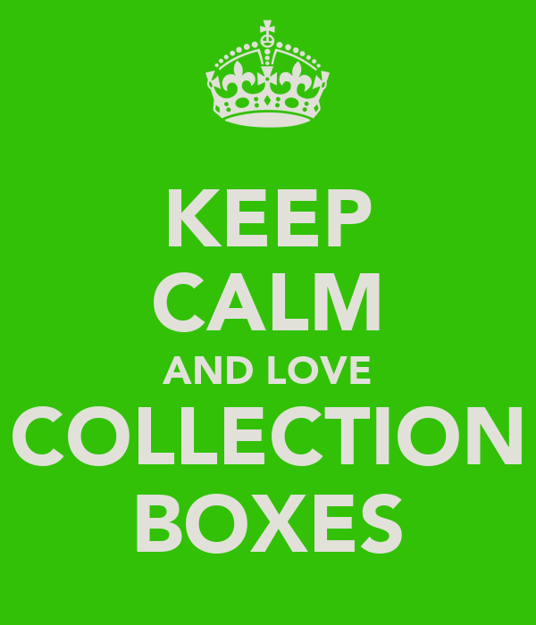 KEEP CALM AND LOVE COLLECTION BOXES