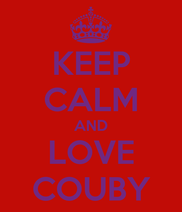 KEEP CALM AND LOVE COUBY
