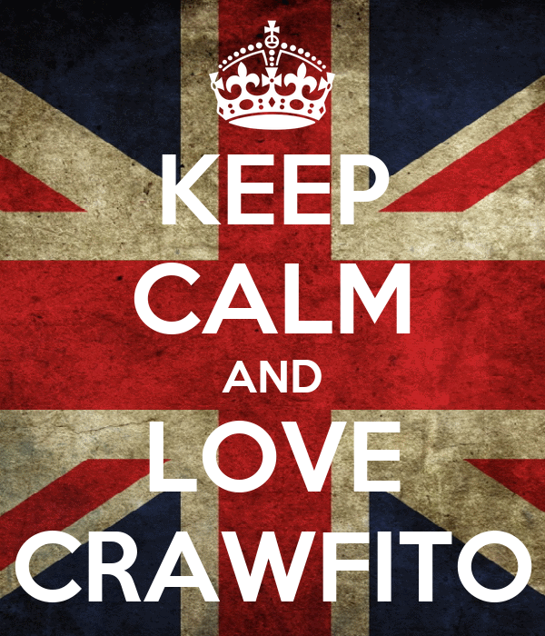 KEEP CALM AND LOVE CRAWFITO