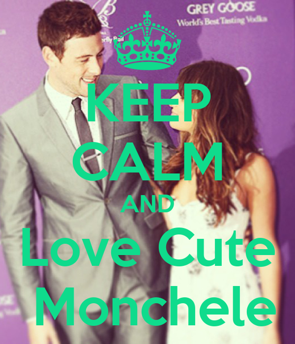 KEEP CALM AND Love Cute  Monchele