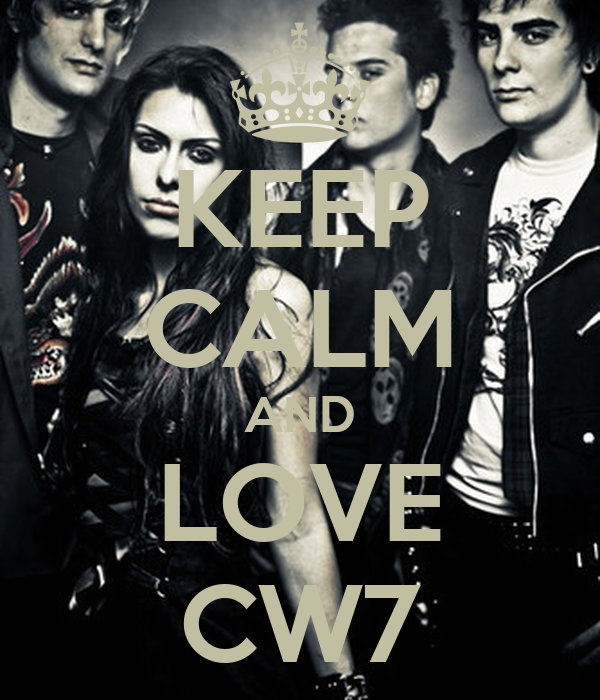KEEP CALM AND LOVE CW7