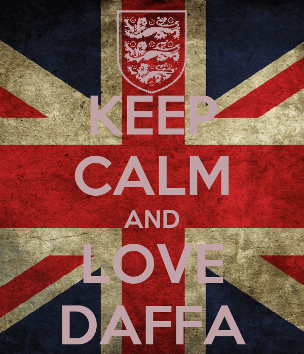 KEEP CALM AND LOVE DAFFA