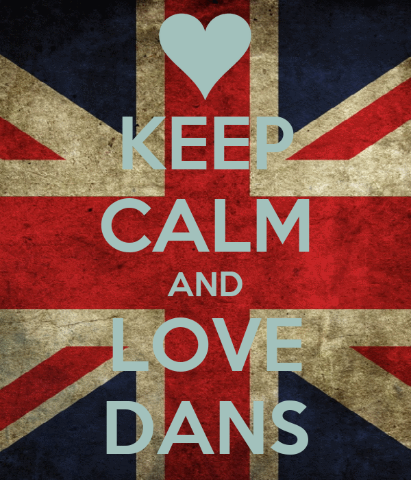 KEEP CALM AND LOVE DANS