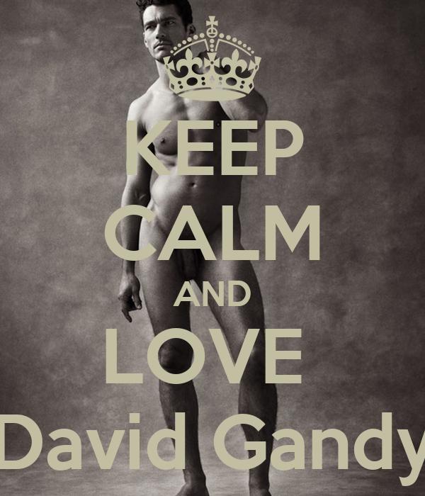 KEEP CALM AND LOVE  David Gandy