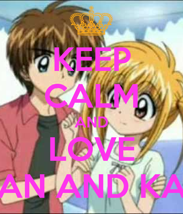KEEP CALM AND LOVE DELAN AND KASEY