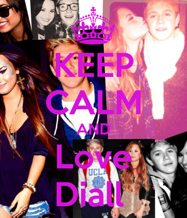 KEEP CALM AND Love Diall