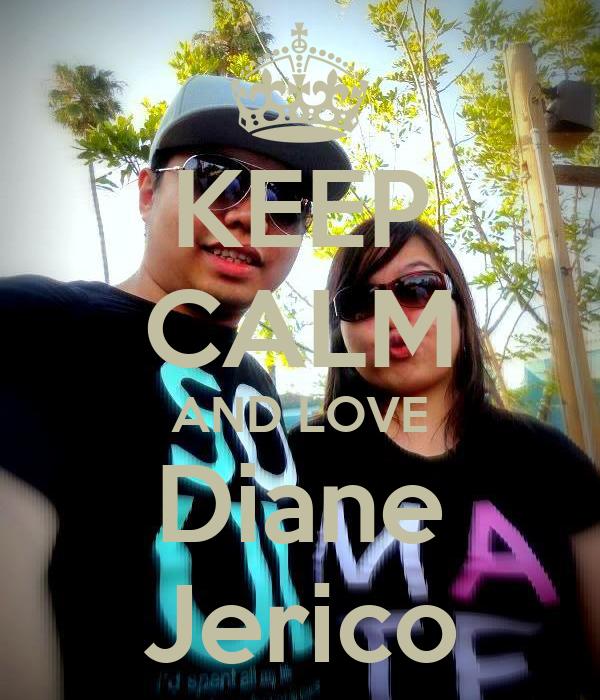KEEP CALM AND LOVE Diane Jerico