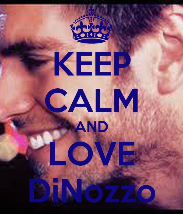 KEEP CALM AND LOVE DiNozzo