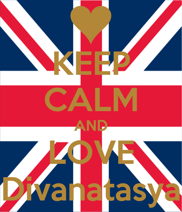 KEEP CALM AND LOVE Divanatasya