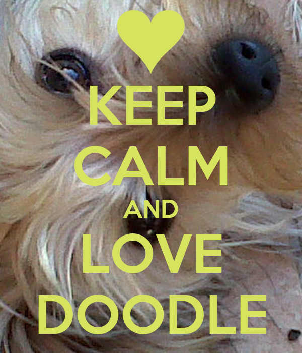 KEEP CALM AND LOVE DOODLE