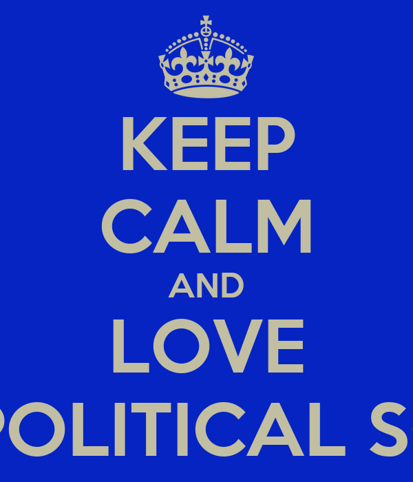 KEEP CALM AND LOVE DUTH POLITICAL SCIENCE