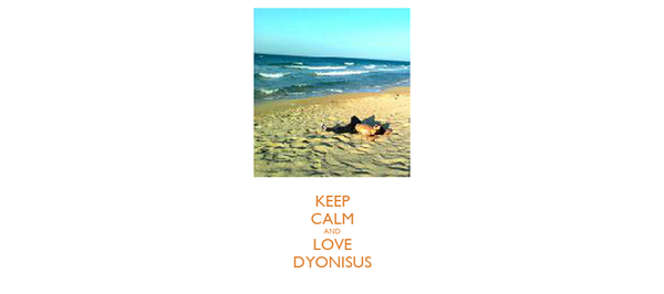 KEEP CALM AND LOVE DYONISUS