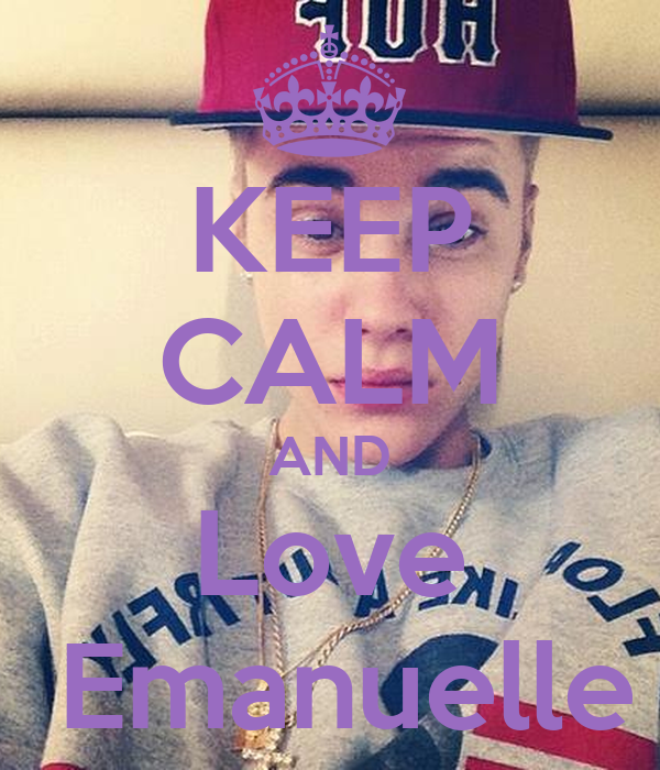 KEEP CALM AND Love  Emanuelle