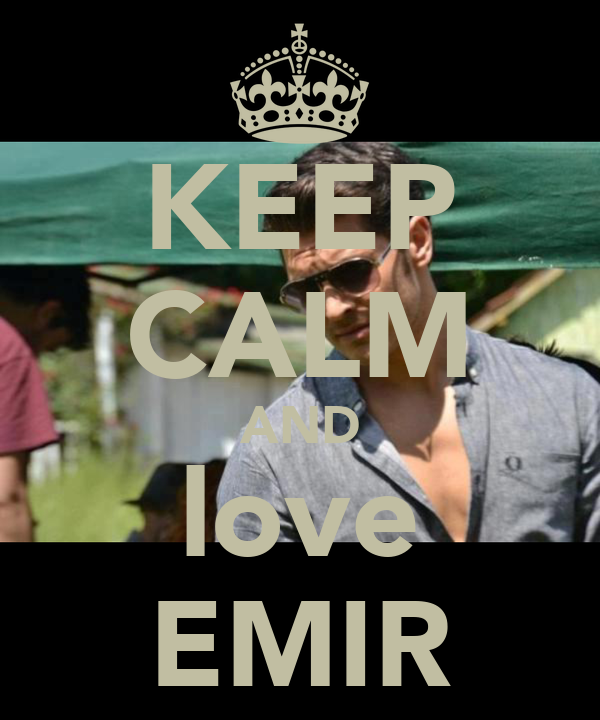 KEEP CALM AND love EMIR