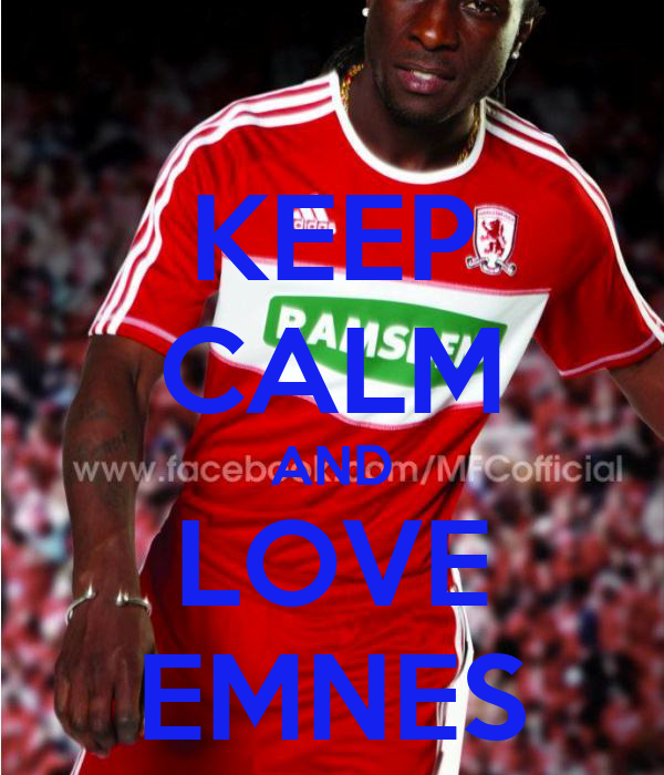 KEEP CALM AND LOVE EMNES