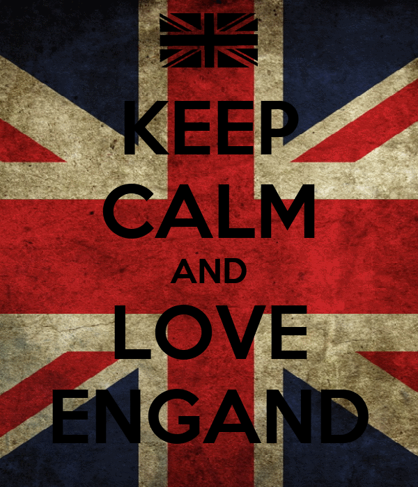KEEP CALM AND LOVE ENGAND