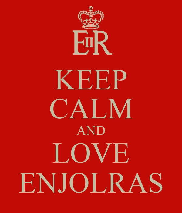 KEEP CALM AND LOVE ENJOLRAS