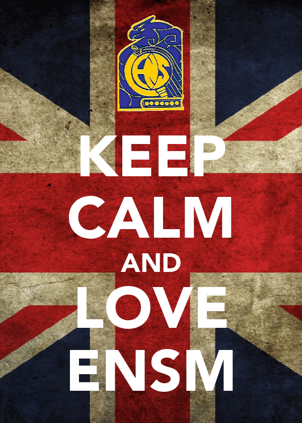 KEEP CALM AND LOVE ENSM