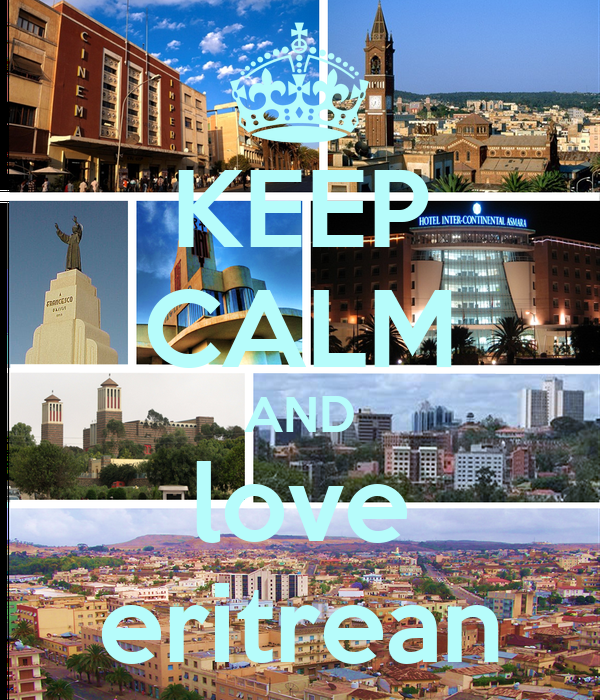 KEEP CALM AND love eritrean
