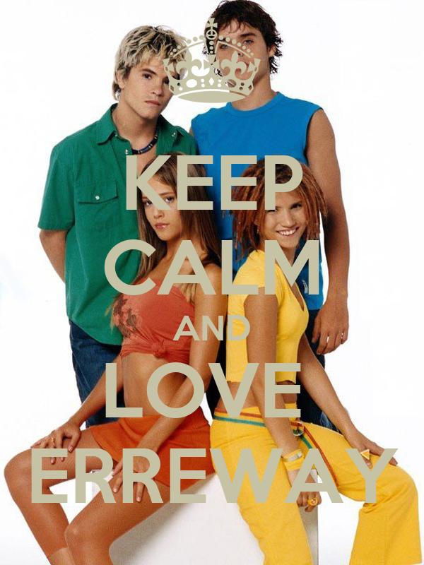 KEEP CALM AND LOVE  ERREWAY