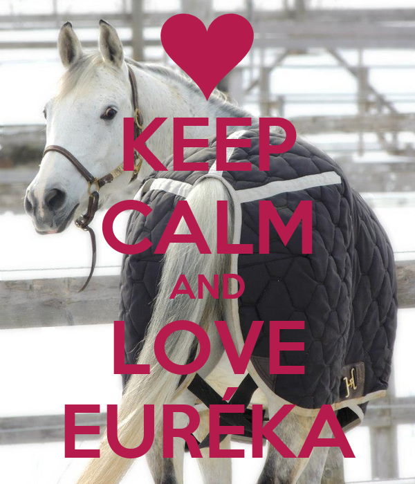 KEEP CALM AND LOVE EURÉKA