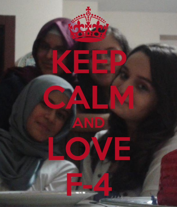 KEEP CALM AND LOVE F-4