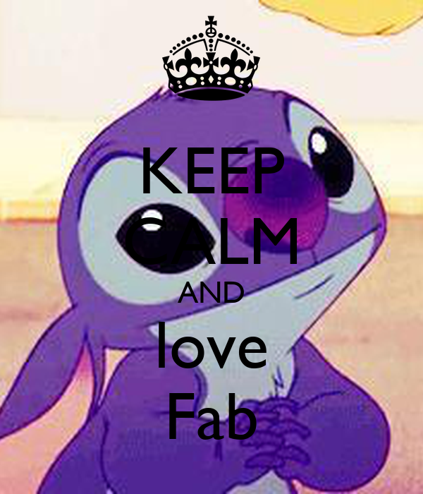 KEEP CALM AND love Fab