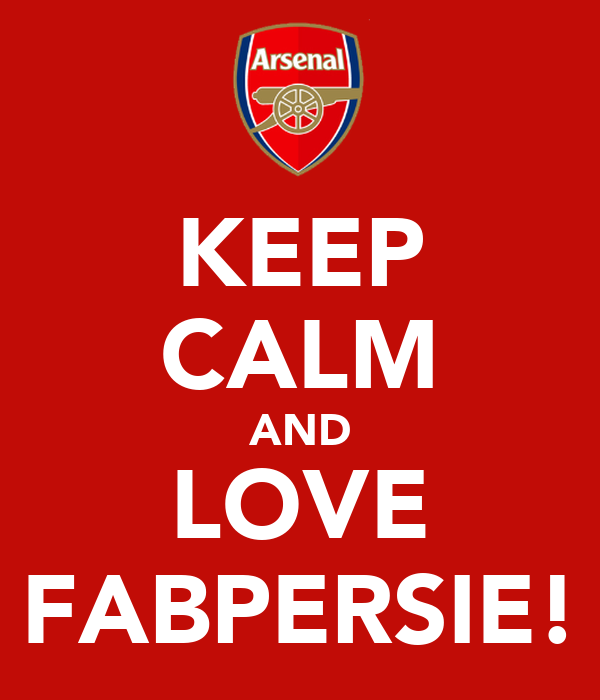 KEEP CALM AND LOVE FABPERSIE!