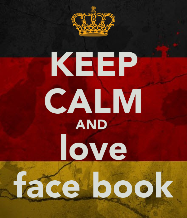 KEEP CALM AND  love face book