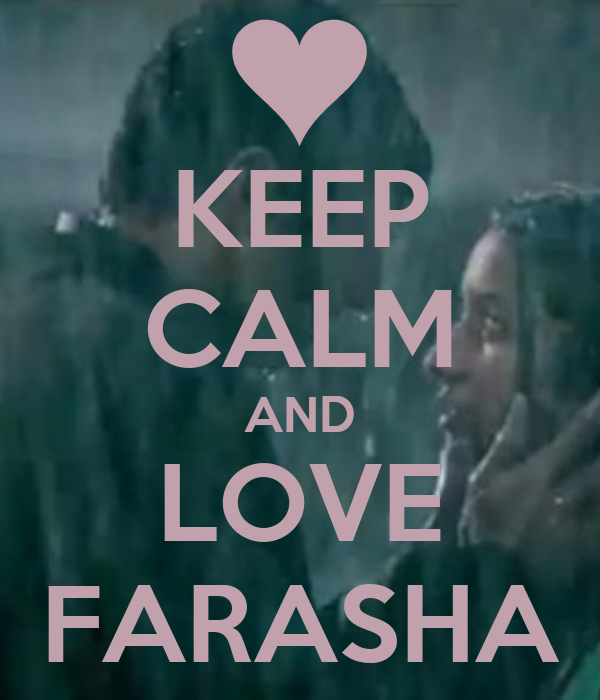 KEEP CALM AND LOVE FARASHA