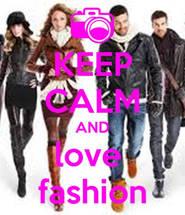 Keep Calm And Love Fashion Poster Emma Archer Keep