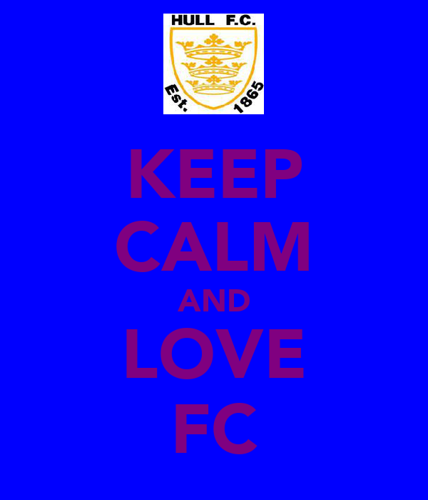 KEEP CALM AND LOVE FC
