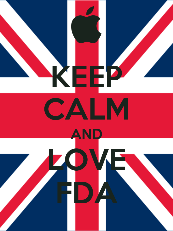 KEEP CALM AND LOVE FDA