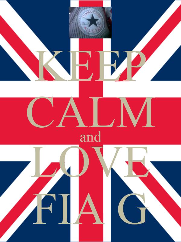 KEEP CALM and LOVE FIA G