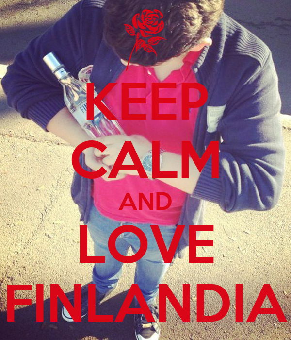 KEEP CALM AND LOVE FINLANDIA