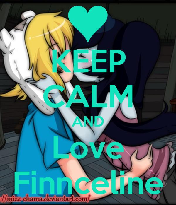 KEEP CALM AND Love Finnceline