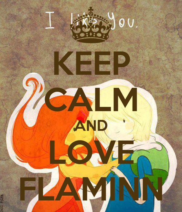 KEEP CALM AND LOVE FLAMINN