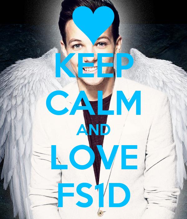 KEEP CALM AND LOVE FS1D