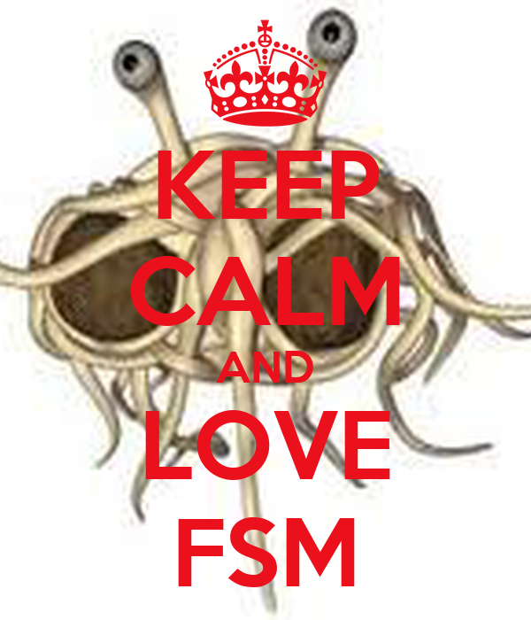 KEEP CALM AND LOVE FSM