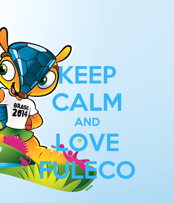 KEEP CALM AND LOVE FULECO