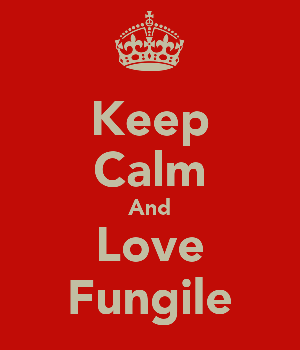 Keep Calm And Love Fungile
